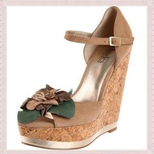 Charles by Charles David Delightful flower wedges